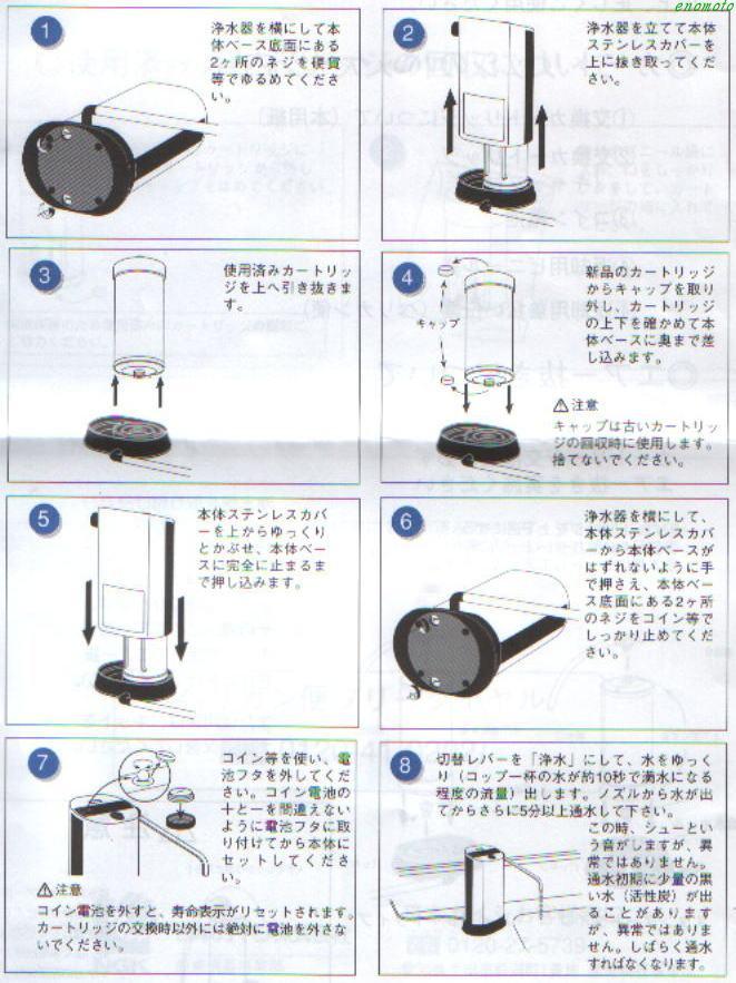 カートリッジ 方 捨て 器 浄水 浄水器カートリッジの交換と処分方法 :